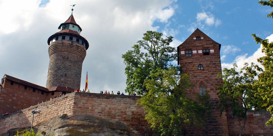 Nuremberg castle overlook