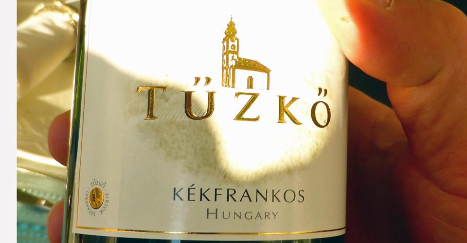 Tüzkö, Hungarian wine