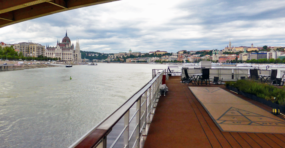 departing Budapest aboard the Viking Njord