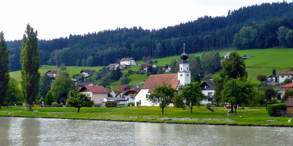 a view from the Viking Njord between Melk, Austria and Passau, Germany
