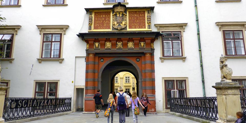 Swiss Gate, Hofburg Palace, Vienna