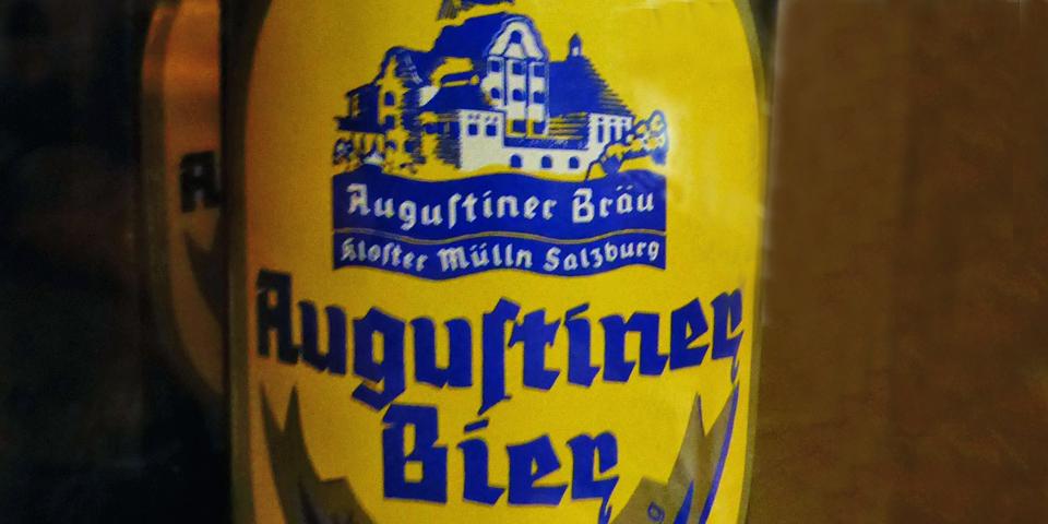 Augustiner bier, Salzburg, Austria