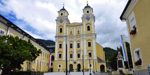 Basilika St. Michael, Mondsee, Salzburg, Austria