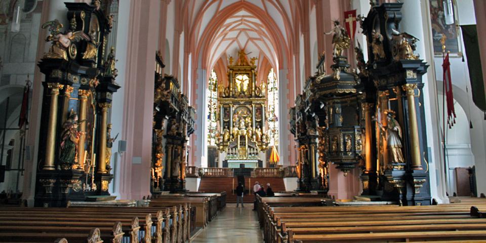 Basilika St. Michael, Salzburg, Austria