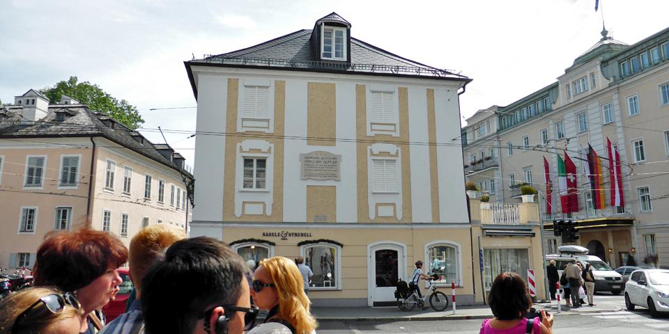 Doppler house, Salzburg, Austria