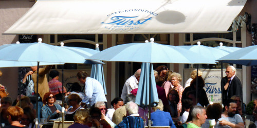 Fürst Café-Konditorei, Salzburg, Austria