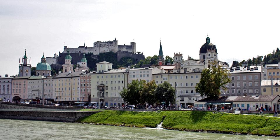 Altstadt, the Old Town, Salzburg, Austria