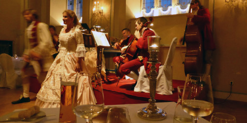 Mozart concert and dinner at Stiftskeller St. Peter, Salzburg, Austria