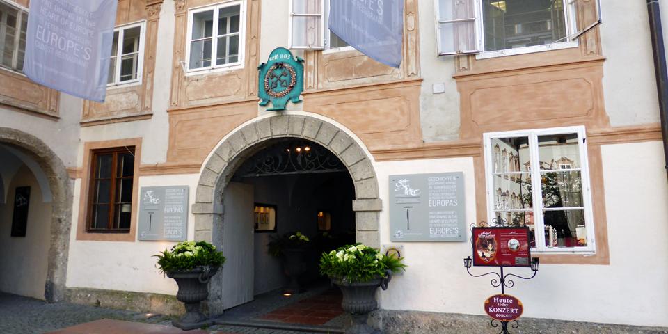 Stiftskeller St. Peter, Salzburg, Austria