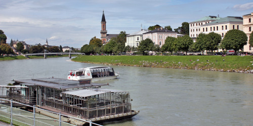 A Salzach River Boat Cruise is included with the Salzburg card.