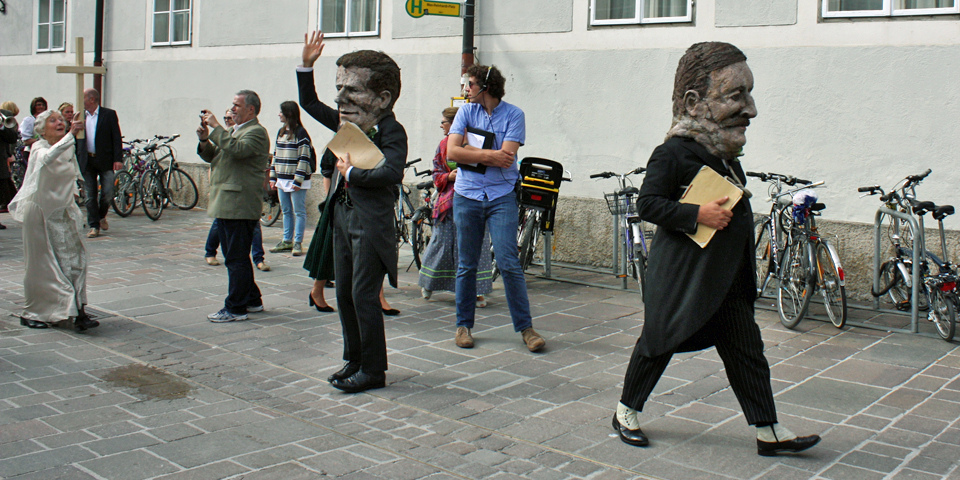 festival parade, Salzburg, Austria