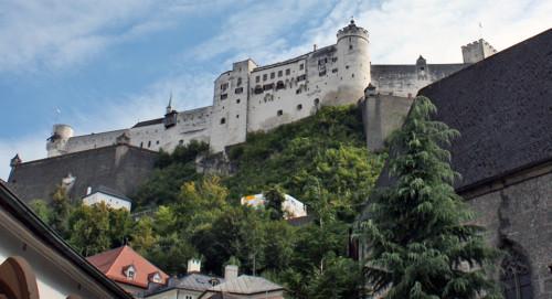 Fortress, Salzburg, Austria