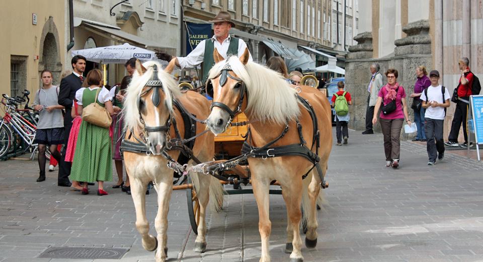 """fiaker"" ride, Salzburg, Austria"