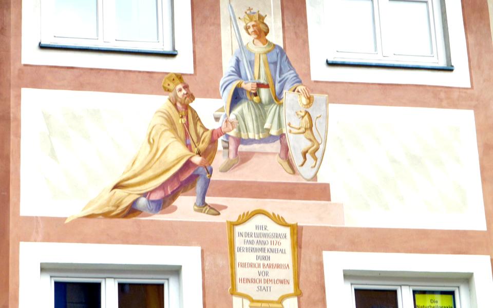 Barbarossa fresco, Garmisch- Partenkirchen