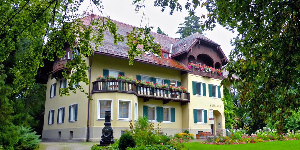 Kurhaus, Michael-Ende Kurpark, Garmisch