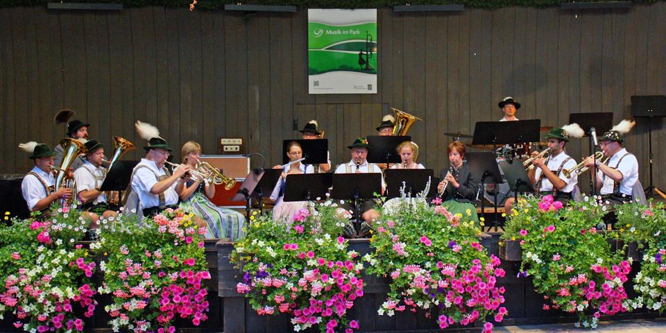 concert, Michael Ende Kurpark, Garmisch