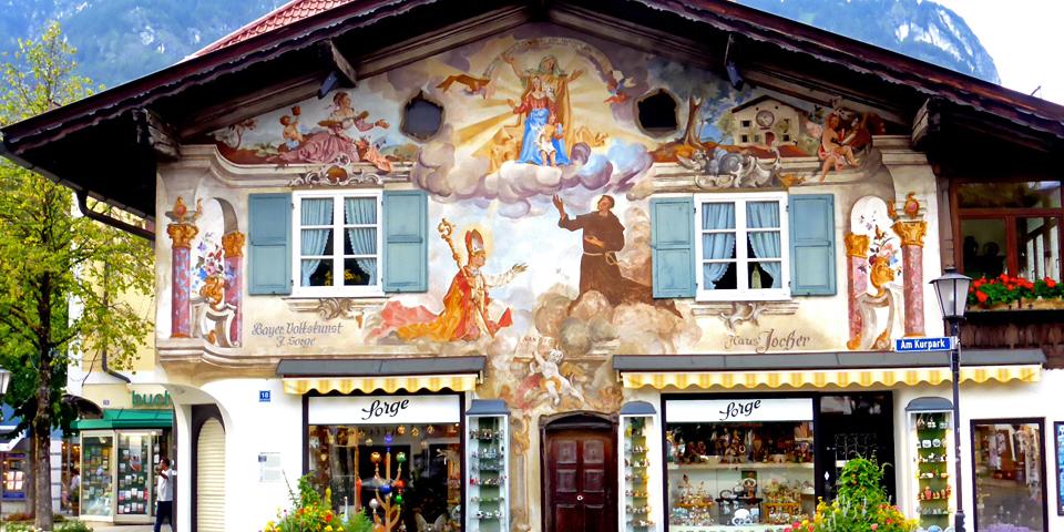 Garmisch shop, Garmisch-Partenkirchen, Germany