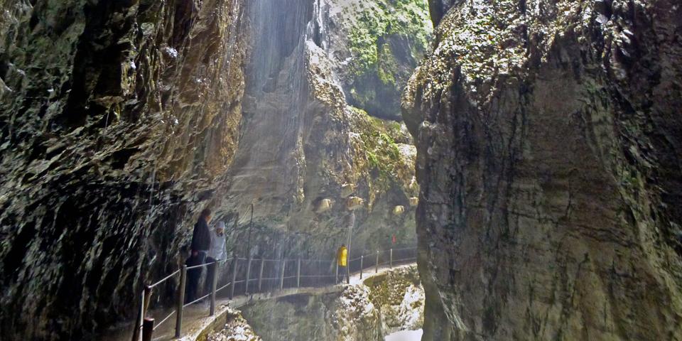 Partnach Gorge, Garmisch-Partinkirchen, Germany