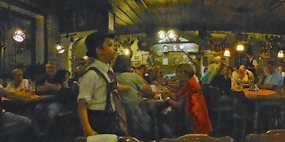slap dancing at the Gasthaus Fraundorfer, Patenkirchen, Garmisch-Partenkirchen