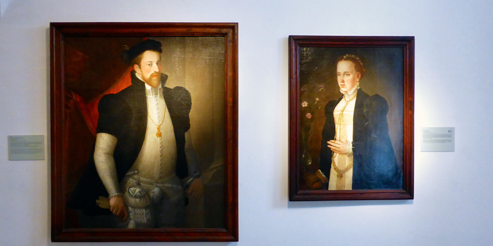 Ferdinand II and Phillipine Welser, Castle Ambras, Innsbruck, Austria