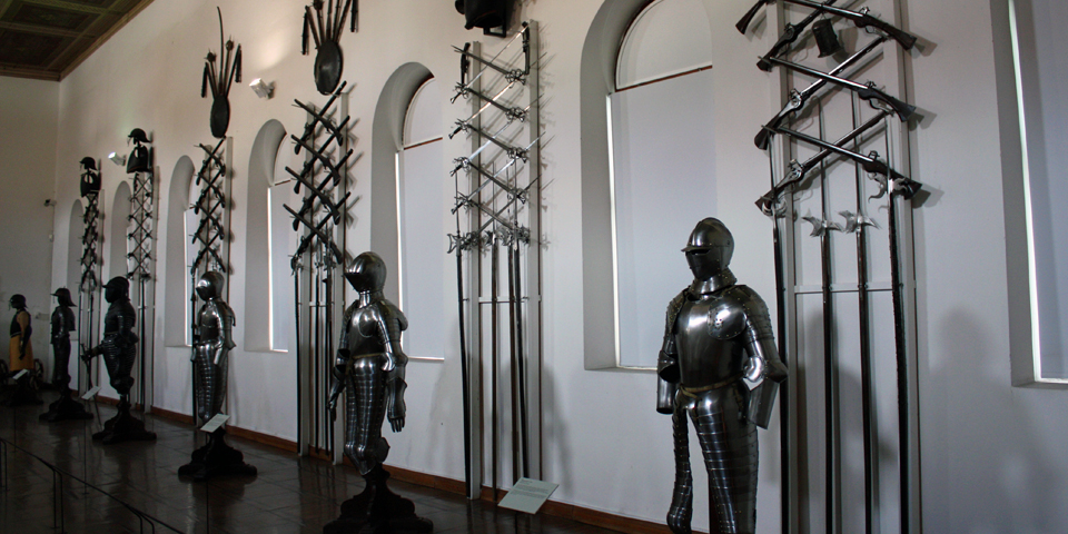 Castle Ambras armor and weaponry