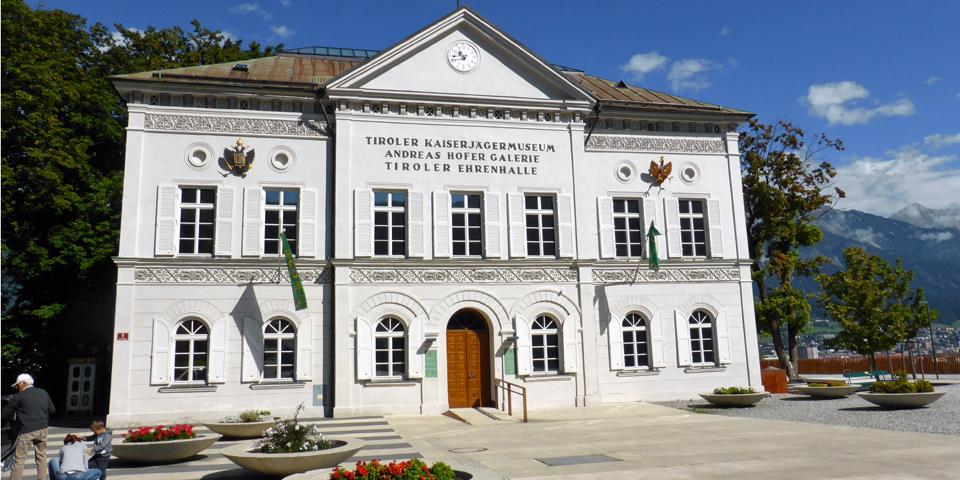 museum complex, Innsbruck, Austria