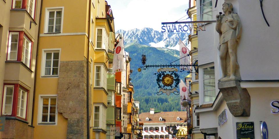 Swarovski shop in Innsbruck, Austria
