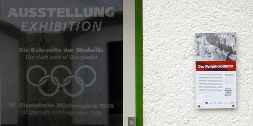 The Dark Side of the Medal, olympic Stadium, Garmisch-Partenkirchen