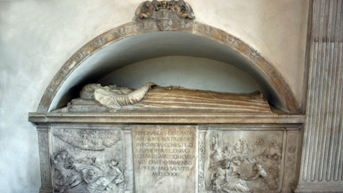 tomb of Archduke Ferdinand II's wife, Philippine Welser, Innsbruck, Austria