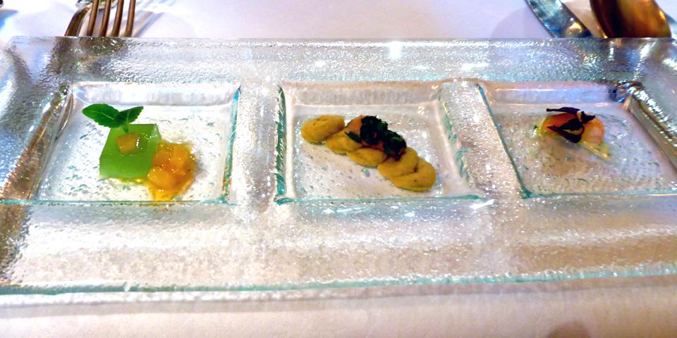 dessert trio, Europa Stüberl, The Grand Hotel Europa, Innsbruck