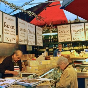 cheese shop, Viktualienmarkt, Munich
