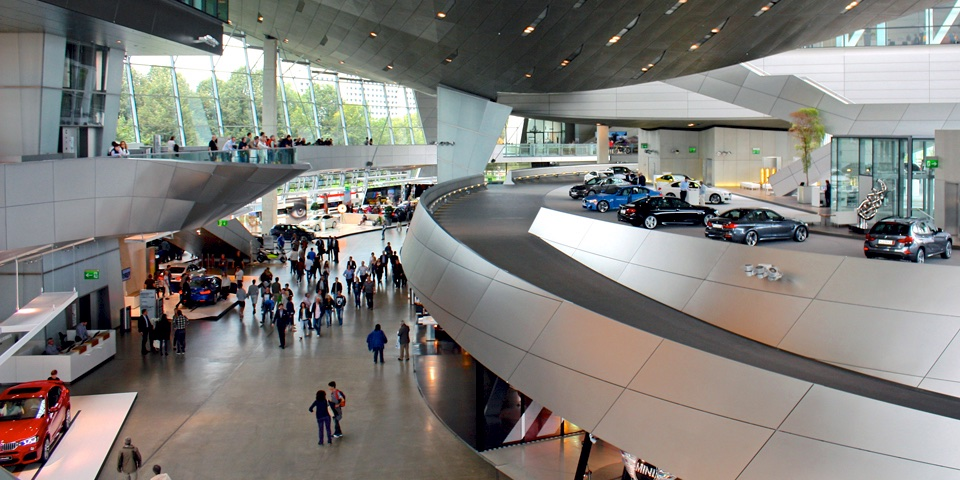 BMW World showroom, Munich, Germany