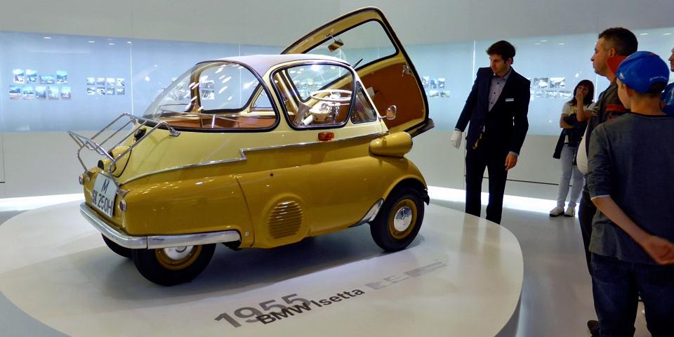 1955 Isetta, BMW Museum, Munich