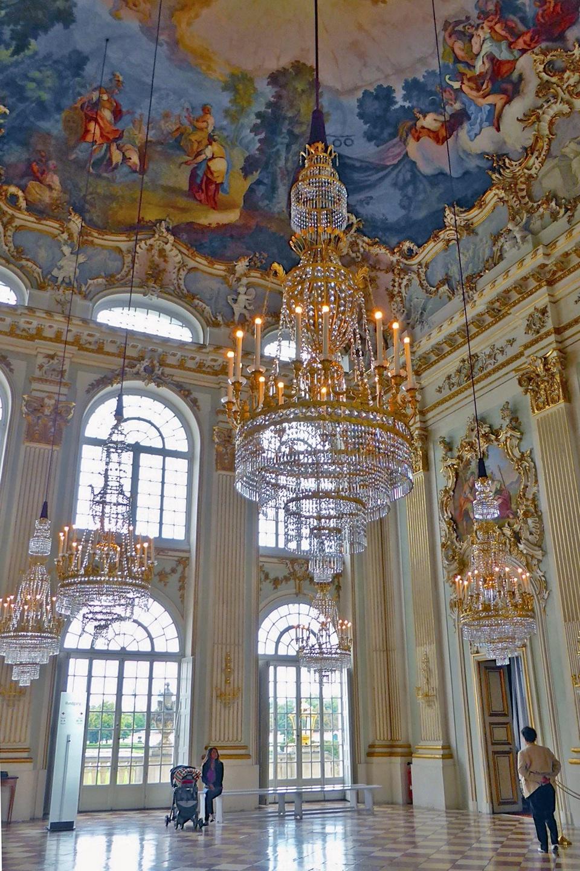 Great Hall, Nymphenburg Palace, Munich, Germany