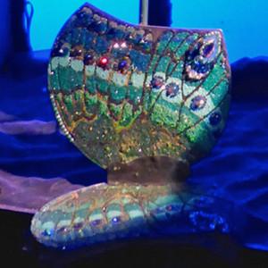 jeweled butterfly, Swarovski Crystal Worlds, Wattens, Austria