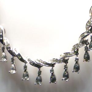 Swarovski necklace circa 1940, Swarovski Crystal Worlds
