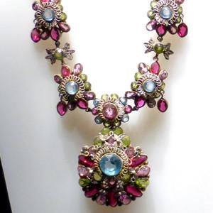 Swarovski necklace, circa 1930s, Swarovski Crystal Worlds, Wattens, Austria