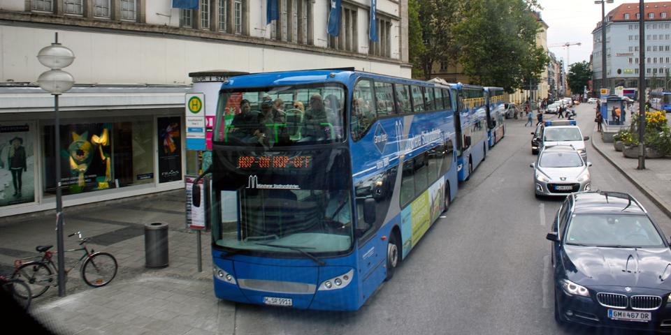 Hop-On Hop-Off Bus, Munich