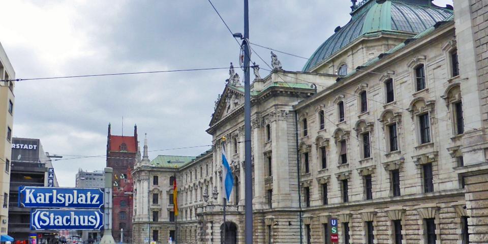 Palace of Justice, Karlsplatz, Munich