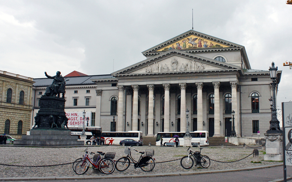National Theater, Max-Joseph-Platz, Munich