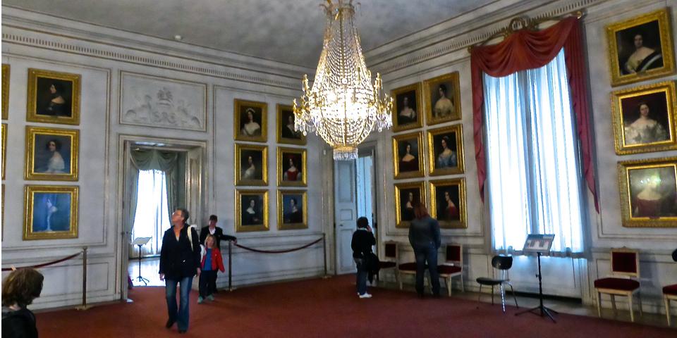 Hall of Beauties, Nymphenburg Palace, Munich