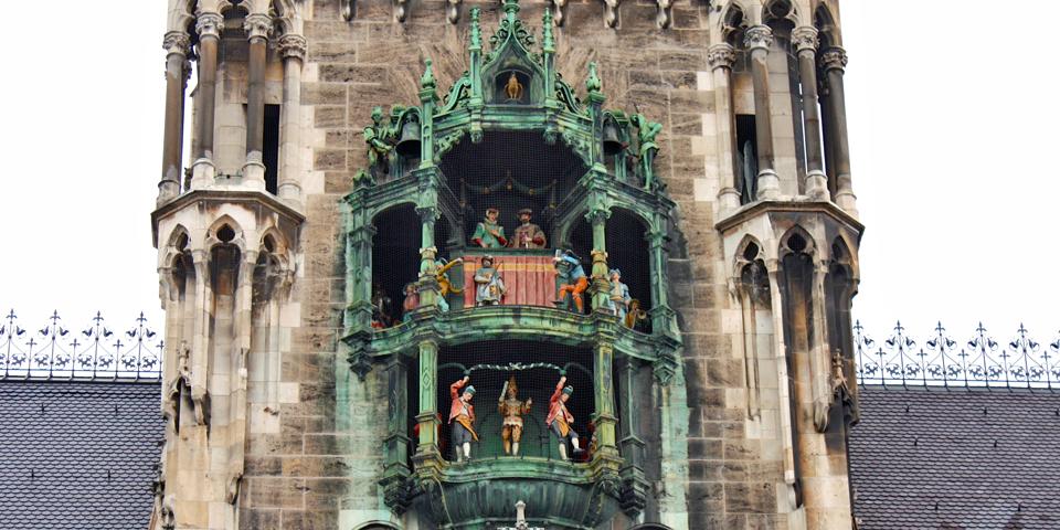 glockenspiel, Munich