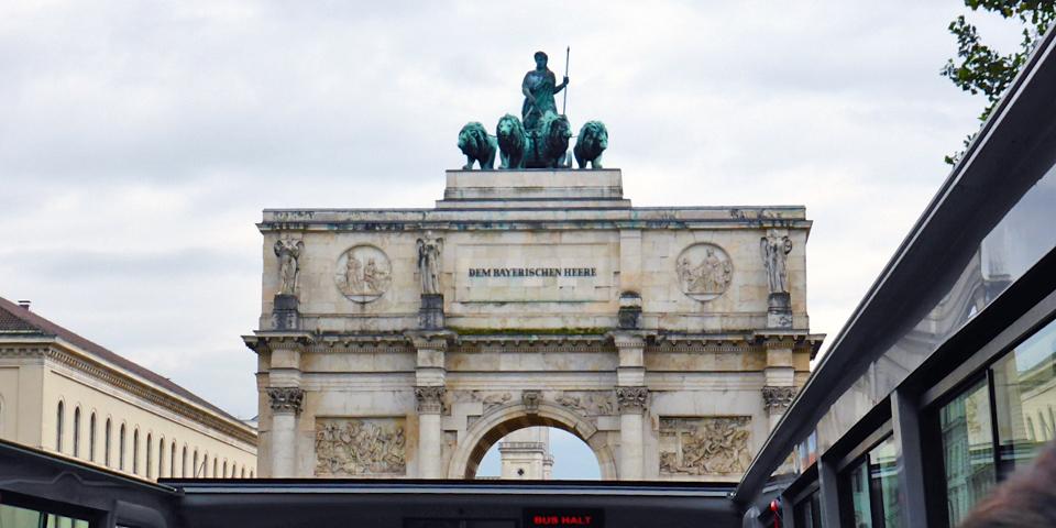 Siegestor, Triumphal Arch, Munich