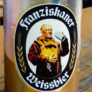Franziskaner Weissbier, Viktualienmarkt, Munich