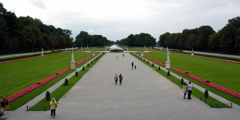 Nymphenburg Palace garden, Munich