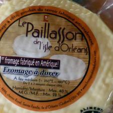 Le Paillasson cheese, Île d'Orleans, Île d'Orleans