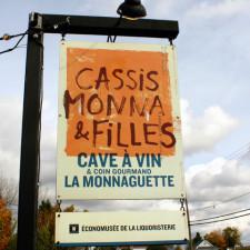 Cassis Monna & Filles, Île d'Orleans, Quebec