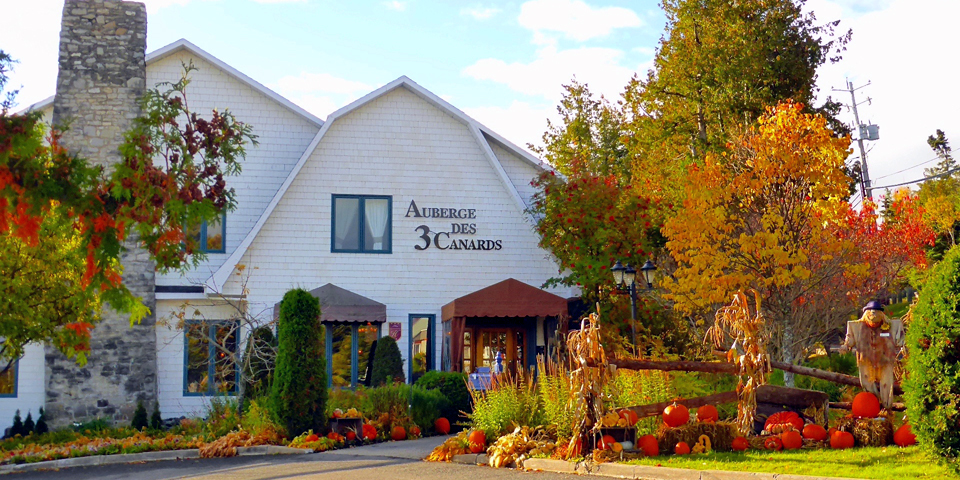 Auberge des 3 Canards, La Malbaie, Charlevoix, Quebec, Canada
