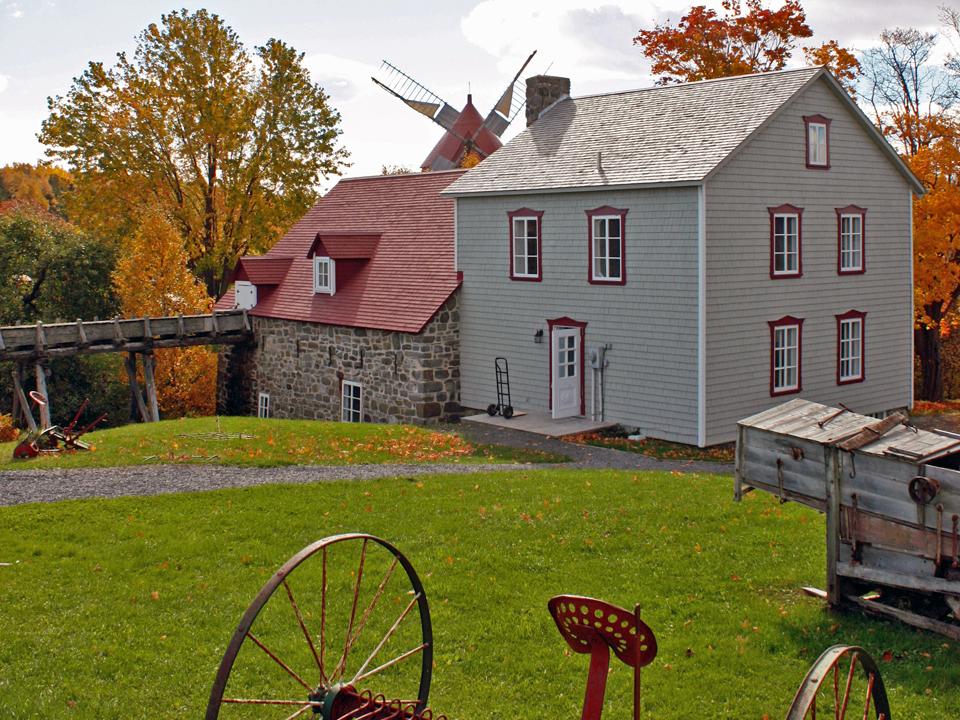 Les Moulins de l'Isle-aux-Coudres, Charlevoix, Quebec, Canada