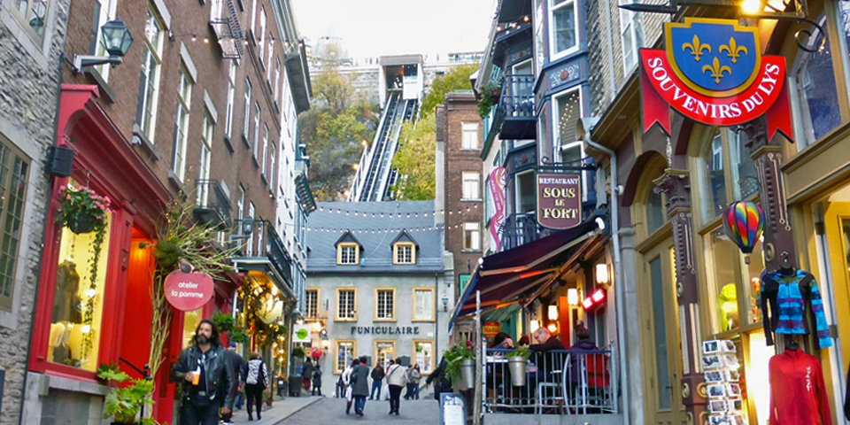 Lower Town, Quebec City
